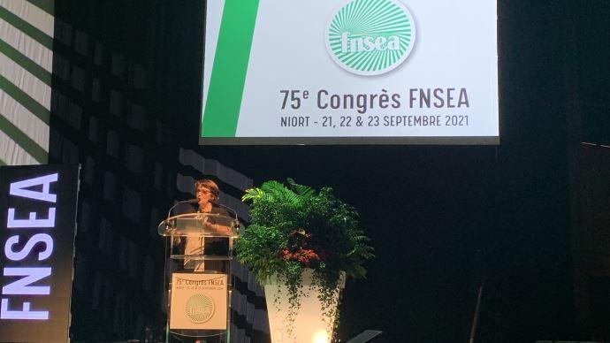 La FNSEA a consacré une partie de son congrès aux ruralités, le 22 septembre, à Niort.