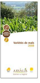 Variétés de maïs 2008