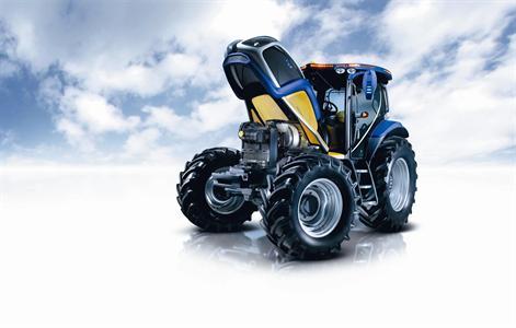 Premier aperçu rapide du tracteur à hydrogène New Holland NH2