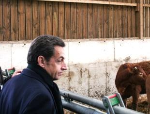 Sarkozy devrait annoncer des mesures pour les jeunes agriculteurs samedi