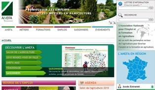 Un nouveau site www.anefa.org pour faciliter l'emploi agricole