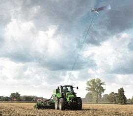 Agrosky, l'agriculture de précision par Same Deutz-Fahr