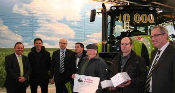 Livraison Du 10 000 U00e8me Tracteur Arion De Claas