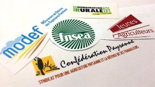 Les cinq syndicats en lice pour 2013.