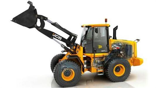 Agro-chargeuse Jcb 427