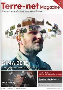 Couverture du Terre-net Magazine spécial Sima