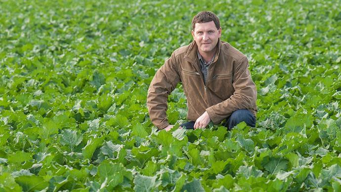 Zsombor Lestyán Goda, agriculteur en Hongrie.