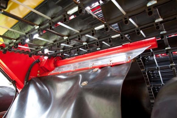 Axe nettoyeur de l'essieu mécanique pour arracheuse de pommes de terre Grimme