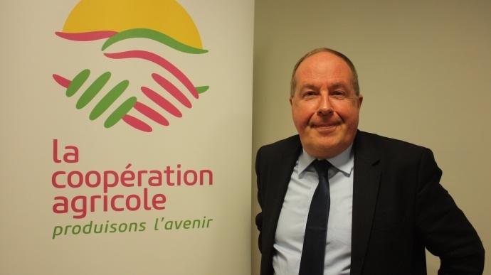 Philippe Mangin, président de Coop de France
