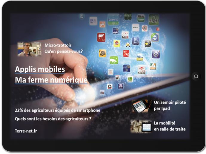 Image intéractive du dossier Appli Mobile de Terre-net.fr
