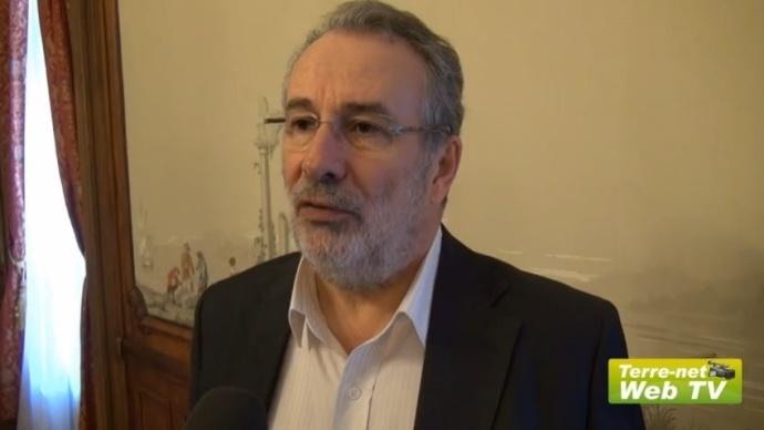 Guy Vasseur, président de l'Apca