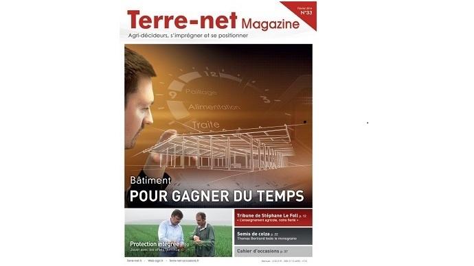 Couverture Terre-net Magazine 33
