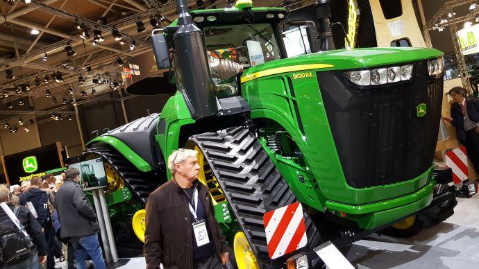 Tracteur John Deere 9RX à Agritechnica